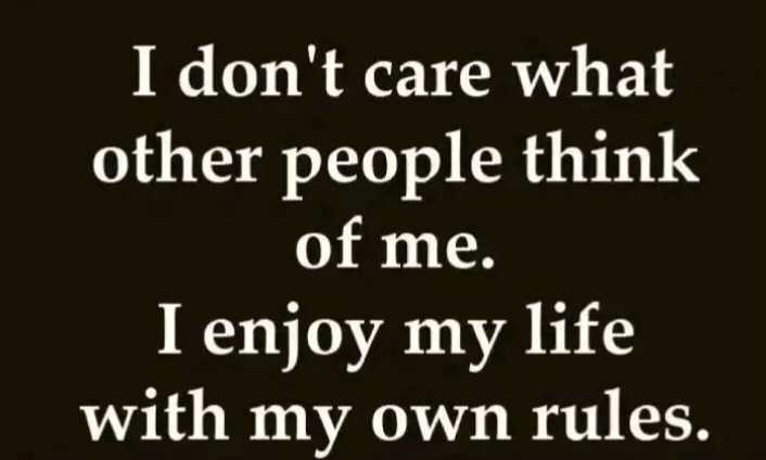 řøyãl attituđe - I don ' t care what other people think of me . I enjoy my life with my own rules . - ShareChat