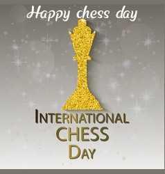 ♚ अंतर्राष्ट्रीय चैस दिवस - Happy chess day INTERNATIONAL CHESS DAY - ShareChat