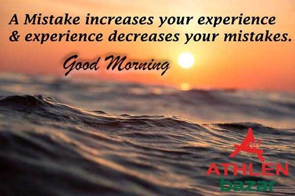 📝अंतर्राष्ट्रीय शिक्षा दिवस😊 - A Mistake increases your experience & experience decreases your mistakes . Good Morning - ShareChat