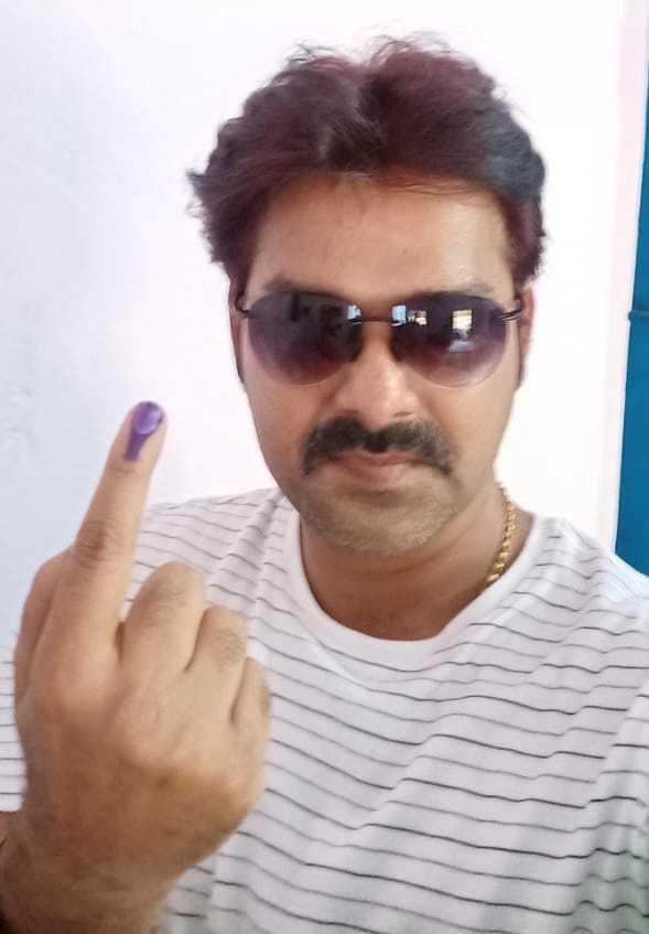 🗳अंतिम चरण क मतदान ☝ - ShareChat