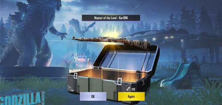 अन्य खेल - Master of the Land - Kar98K EMOVIE OK Again - ShareChat