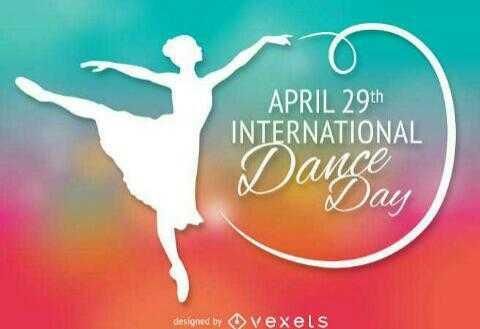 💃आंतरराष्ट्रीय नृत्य दिवस🕺 - APRIL 29th INTERNATIONAL Dance Day designed by vexels - ShareChat