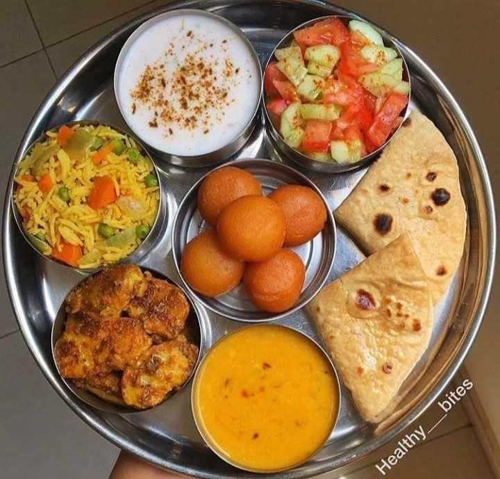 🍲आज खाने में क्या है? - Healthy _ _ bites - ShareChat