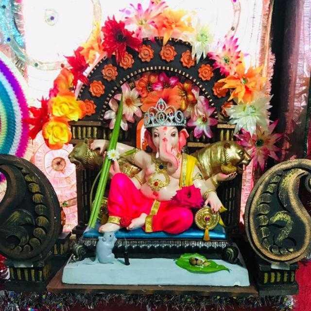 🌺आमच्या घरचा बाप्पा - Mininninthinththithಯಿ ೧೧೫RA - ShareChat
