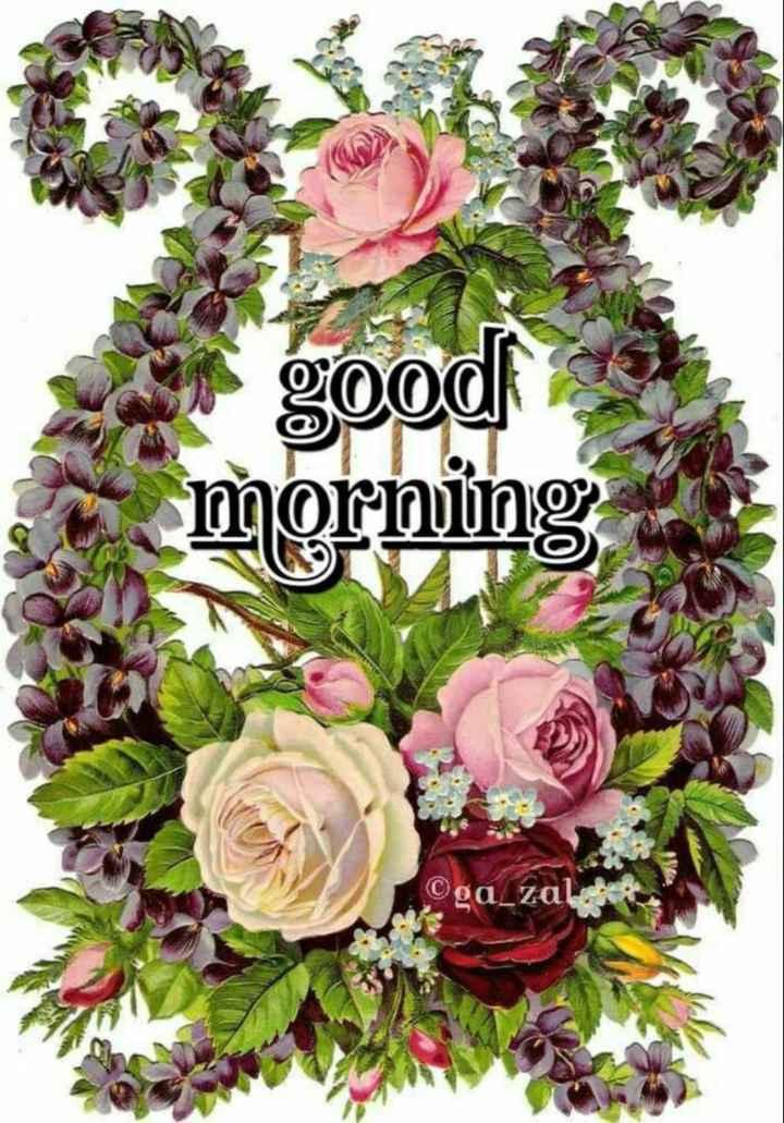 🖼 आर्ट और पेंटिंग्स - good morning Oga _ za - ShareChat