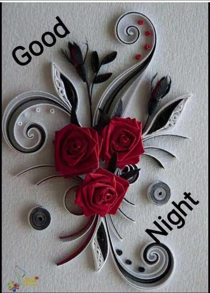 🖼 आर्ट और पेंटिंग्स - Night V . Good - ShareChat