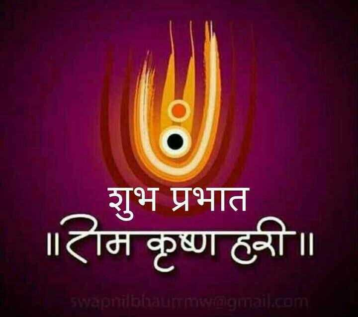 💐आषाढी एकादशी - शुभ प्रभात | ॥ राम कृष्ण ही ॥ swapni bhaumw @ gmail . com - ShareChat