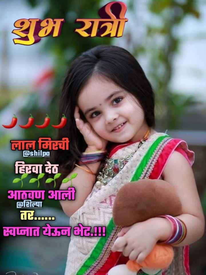 💐इतर शुभेच्छा - शुभ रात्र लाल मिरची हिरवा देठ @ shilpa आठवण आली ofल्पा तर . स्वप्नात येऊन भेट ! ! ! - ShareChat