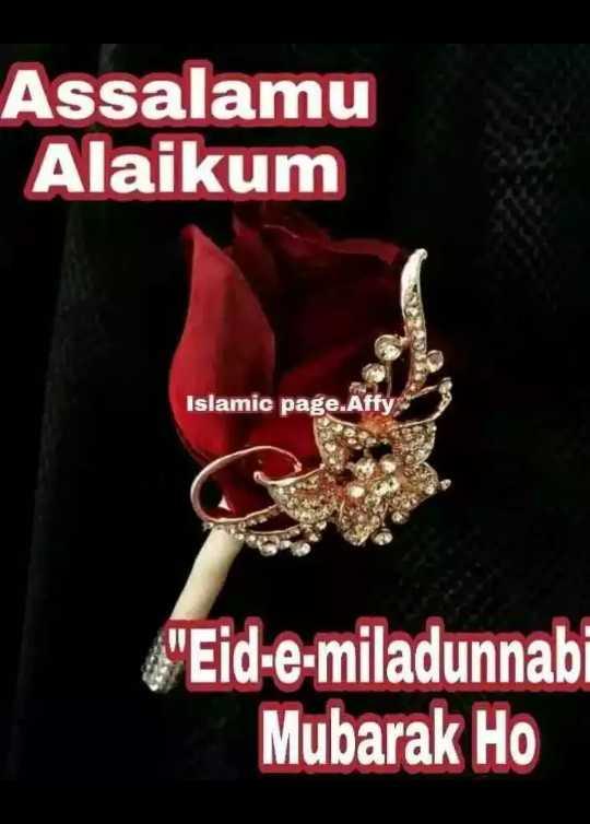 🌛 ईद मिलाद उन-नबी - Assalamu Alaikum Islamic page . Affy Eid - e - miladunnabi Mubarak Ho - ShareChat