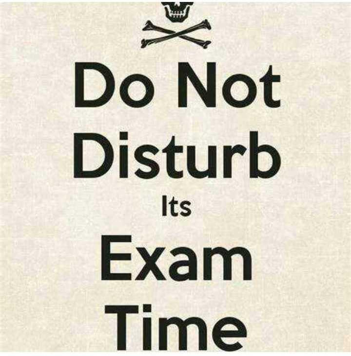 📚 एग्जाम जोक्स😂 - Do Not Disturb Exam Time Its - ShareChat