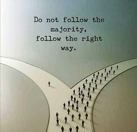 📖एग्जाम मोटिवेशन - Do not follow the majority , follow the right way . - ShareChat
