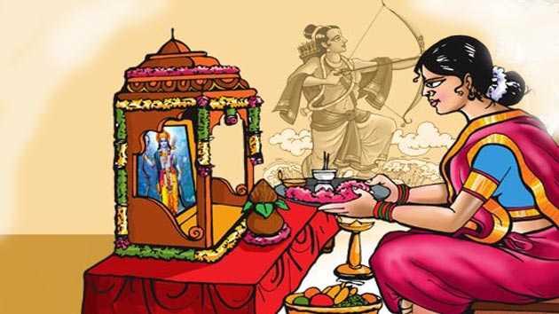 🚩एडवांस में राम नवमी क शुभकामना 🚩 - ShareChat