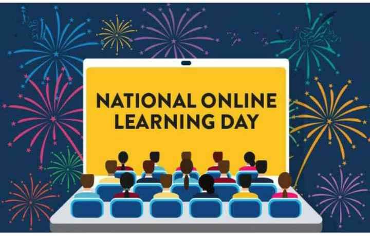 💻 ऑनलाइन लर्निंग डे - NATIONAL ONLINE LEARNING DAY - ShareChat