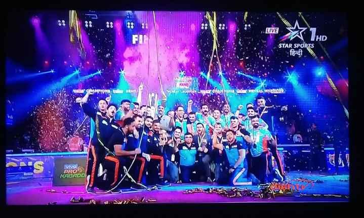 💪🏼कबड्डी लीग 2019 - 88 88 LIVE A HD STAR SPORTS fort . CMMPION NO caya CHAM SONO DANGAL WARRIORS . VIVO KABADD PRO - ShareChat