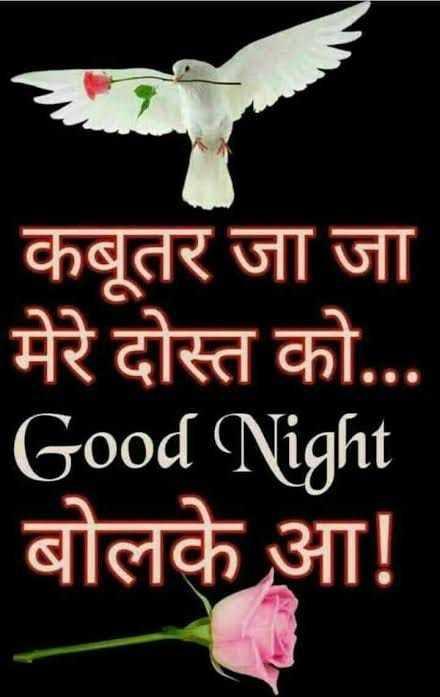 🌺 कवि कुमार आज़ाद (डॉक्टर हाथी) पुण्यतिथि - कबूतर जा जा मेरे दोस्त को . . . Good Night बोलके आ ! - ShareChat