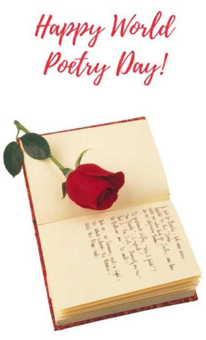 🎙कवि दिवस - Murah ! W practional sobre burroid Happy World Poetry Day ! od w Jiwa , ale also us - ShareChat