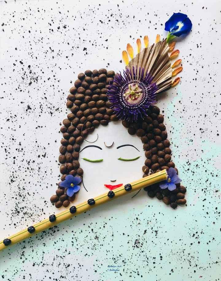 कृष्ण लीला - Ganden Art . Subhashigi 5 - ShareChat