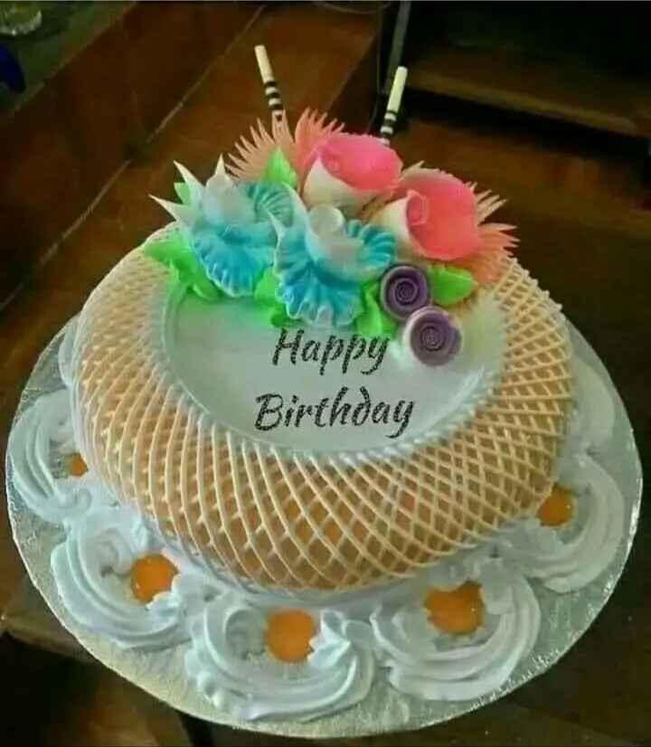 🎂केक / चॉकलेट / स्वीट /आईस-क्रीम - Happy Birthday - ShareChat