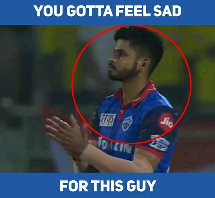 🏏 क्वालीफायर-2: CSK 💛 vs DC 🔷 - YOU GOTTA FEEL SAD FOR THIS GUY - ShareChat