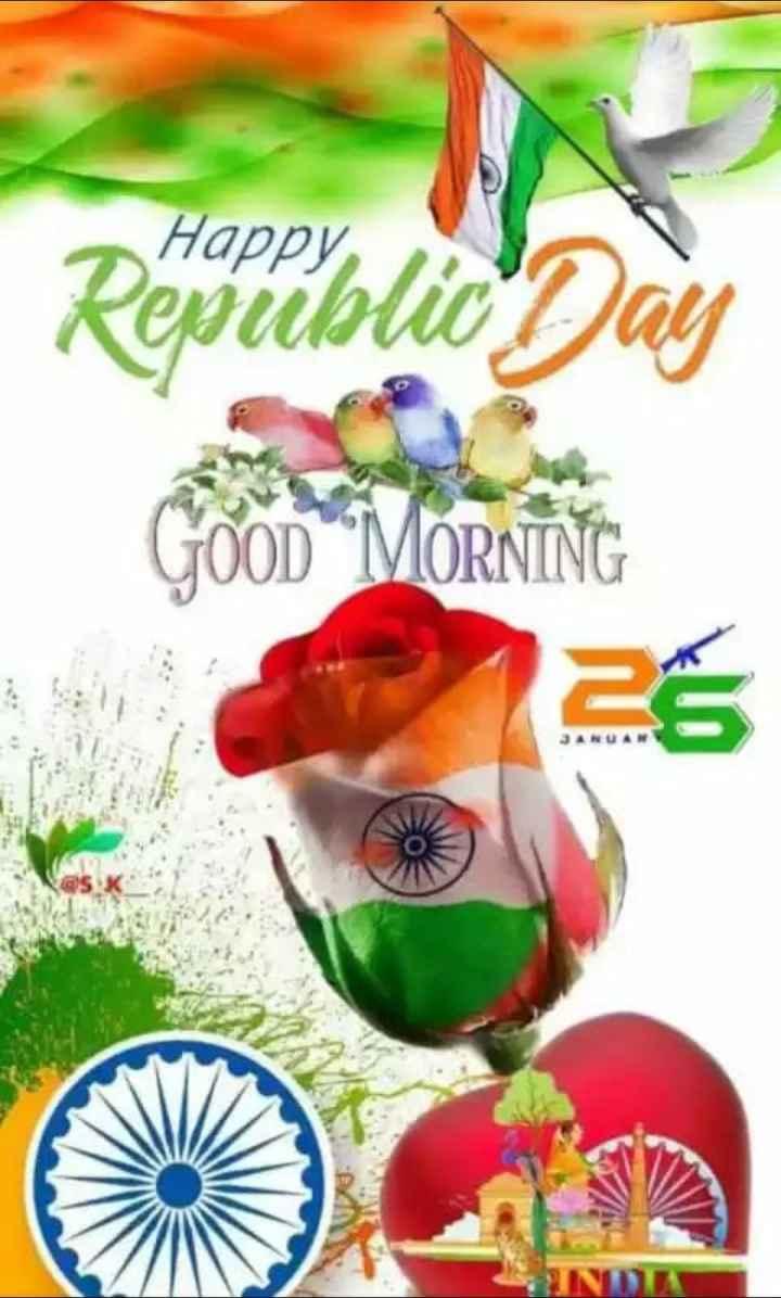 🙏गणतंत्र दिवस की शुभकामनाएं - Restiblid Day GOOD MORNING - ShareChat