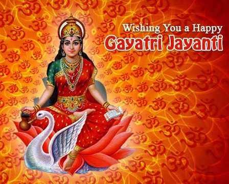 🙏 गायत्री जयंती - 3 298 39 Wishing You a Happy Gayatri Jayanti Go Us 335 33 30 - 35 35 - 38 39 - ShareChat