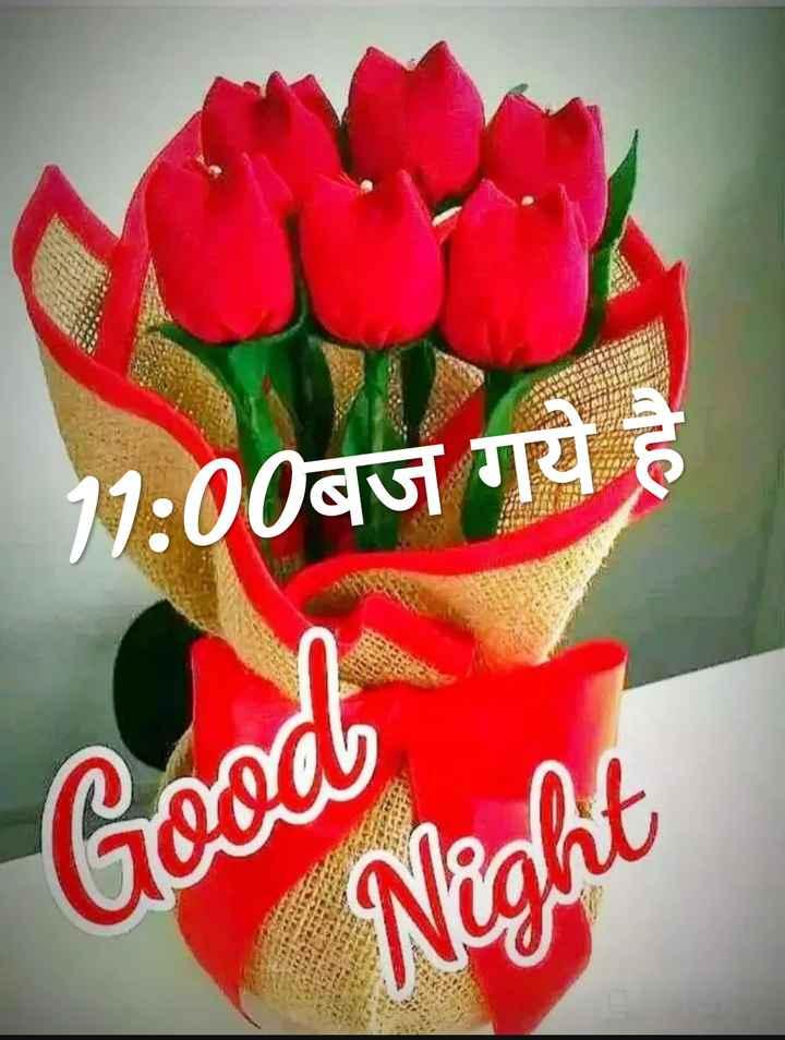 🌙 गुड नाईट - 11 : 00Q Good Night - ShareChat