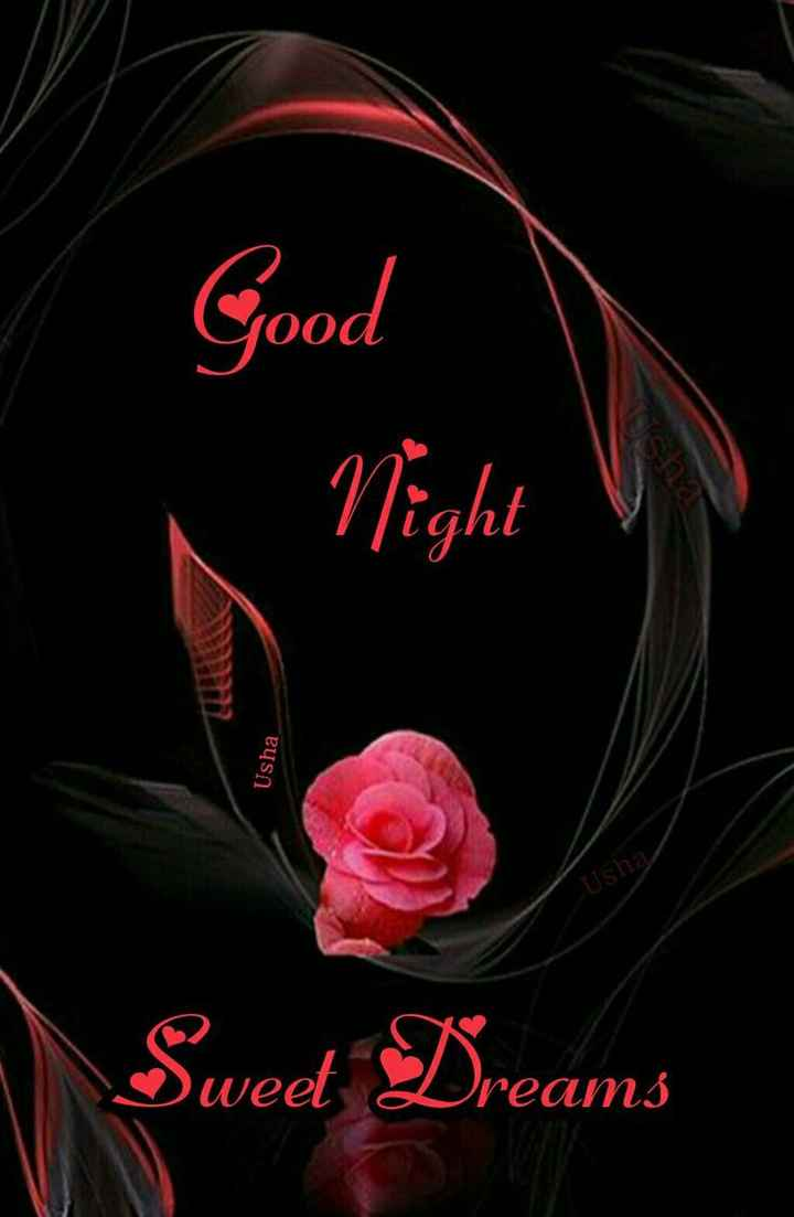 🌙 गुड नाईट - Good Night Usha Usha Usha Sweet Dreams - ShareChat