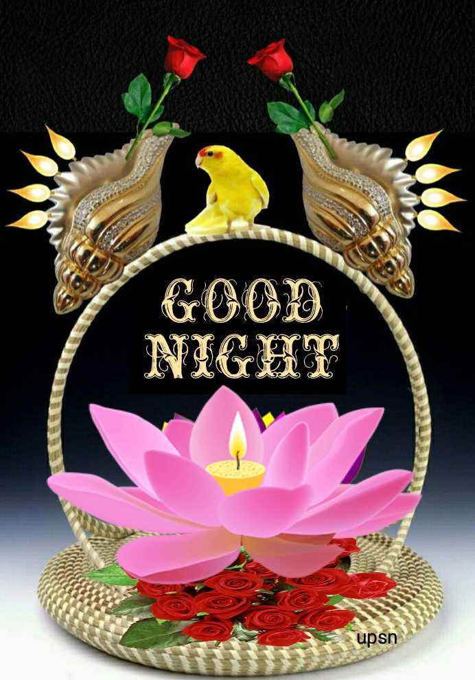 🌙 गुड नाईट - GOOD NIGHT ©Z upsn - ShareChat