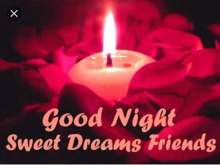 🌙 गुड नाईट - Good Night Sweet Dreams Friends - ShareChat