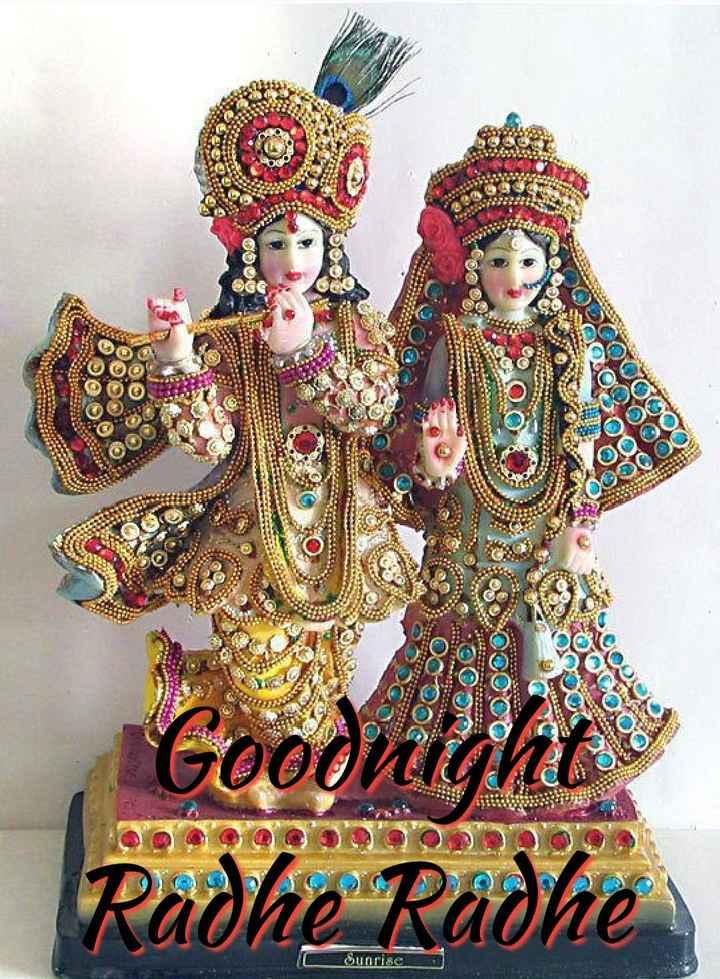 🌙 गुड नाईट - 00 . 000 Goodnig Radhe Radhe - ShareChat
