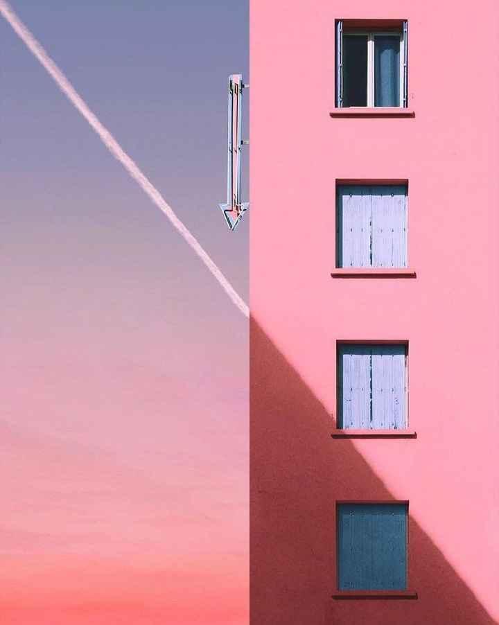 गुलाबी रंग दिवस - EL LL - ShareChat
