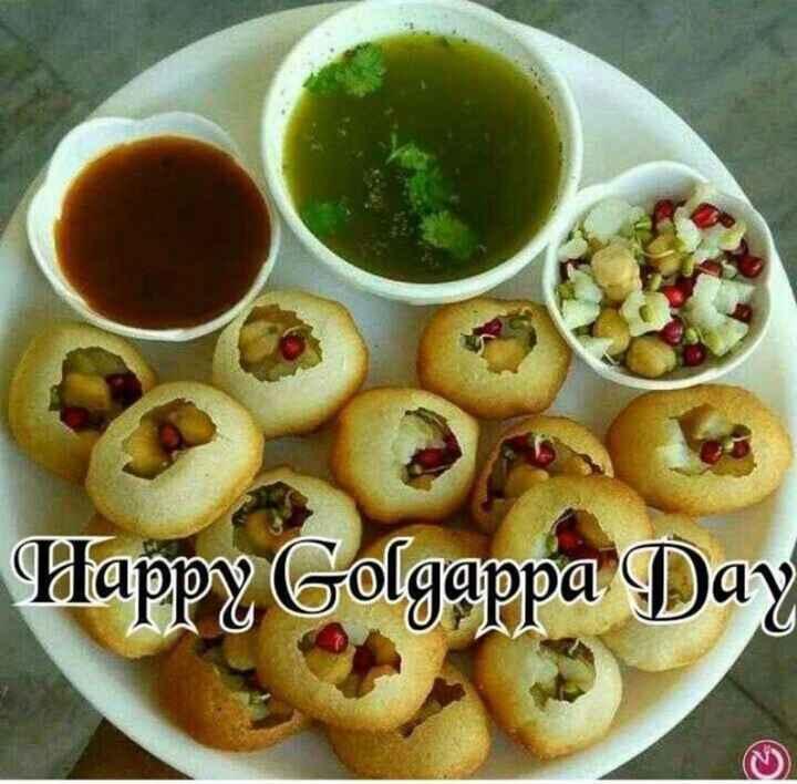 😋गोलगप्पा दिवस - Happy Golgappa Day - ShareChat