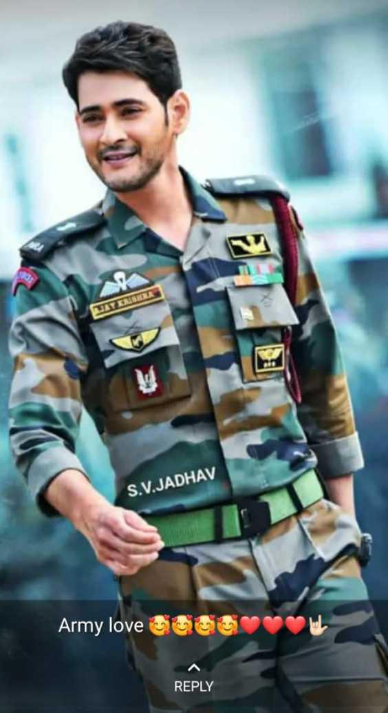 🔐 ग्रुप: जय हिंद - SIRI S . V . JADHAV Army love ou REPLY - ShareChat