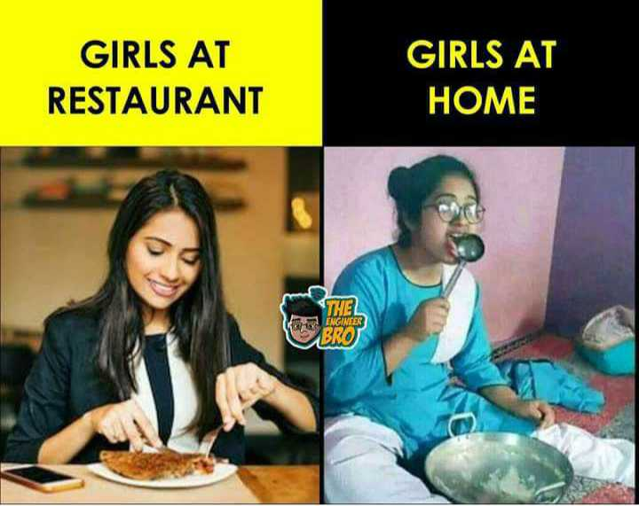 🔐 ग्रुप: भैया जी स्माइल😄 - GIRLS AT RESTAURANT GIRLS AT HOME THEL ENGINEER BRO - ShareChat