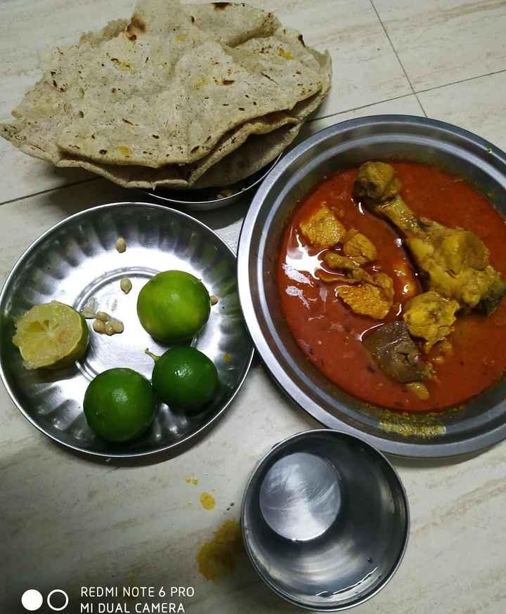 🍱घरचे जेवण / थाळी - REDMI NOTE 6 PRO MI DUAL CAMERA - ShareChat