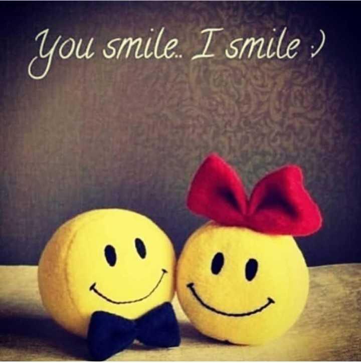 🤣चला हसू या डे - you smile . I smile : ) - ShareChat