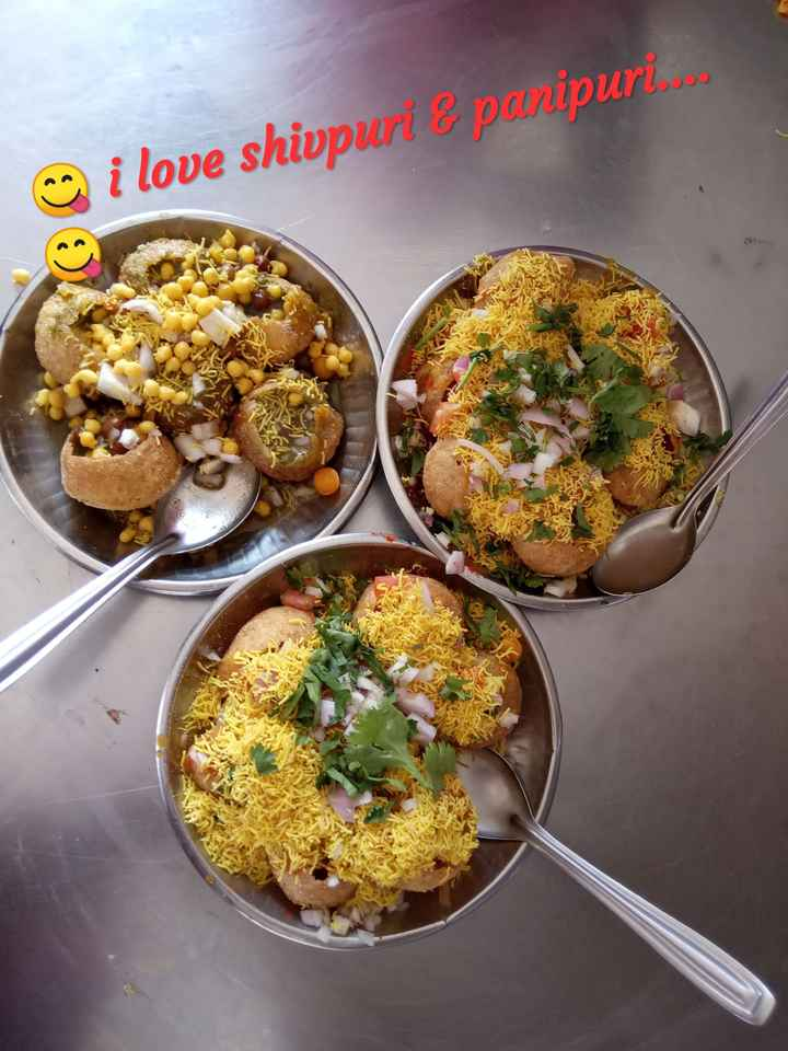 🍱चाट/सामोसा/कचोरी/भेळ - @ i love shivpuri & panipuri . . . - ShareChat