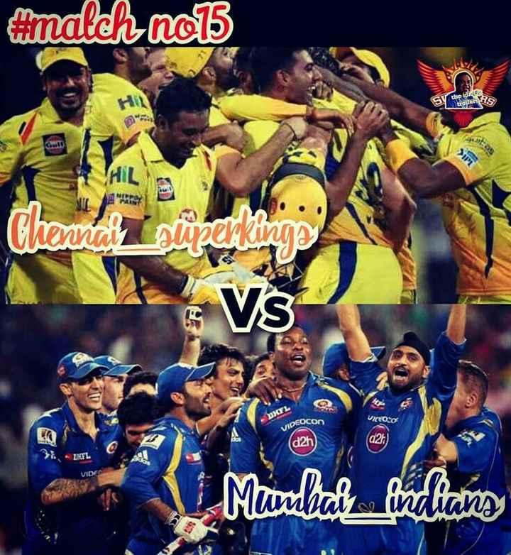 🏏 चेन्नई 🦁 vs मुंबई 🔵 - ShareChat