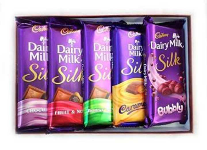 🍫चॉकलेट डे - Cax USM Ac Pagi Dairy Da m ir Dair Milk Dairy Milk MHIK Siir Silk ou Sil CHOCO FRUIT & NURANSA Caran Bubbly - ShareChat