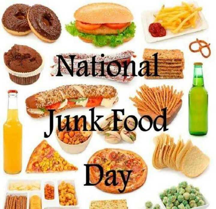 🍔 जंक फूड डे - National Junk Food Day - ShareChat