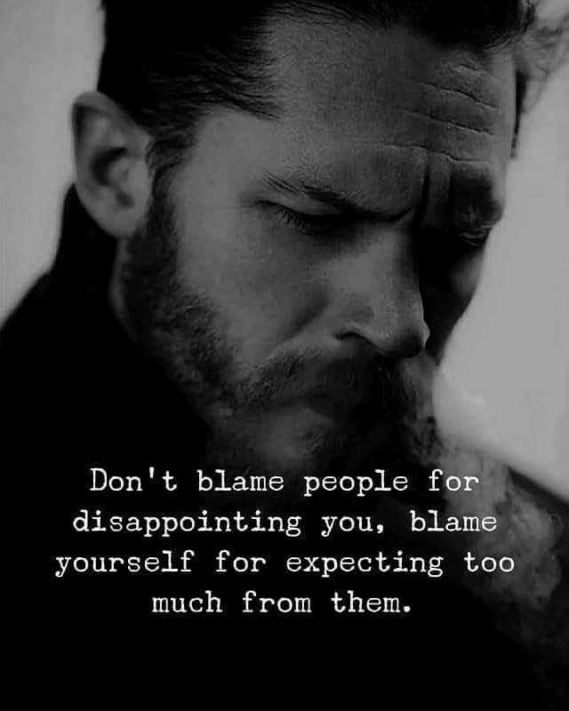 💔जख्मी दिल - Don ' t blame people for disappointing you , blame yourself for expecting too much from them . - ShareChat