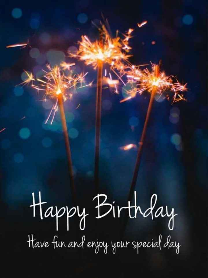 🎂 जन्मदिन🎂 - Happy Birthday Have fun and enjoy your special day - ShareChat