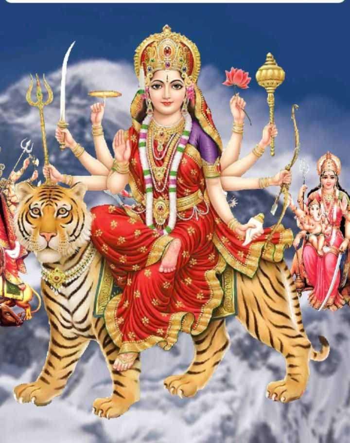 🔴जय दुर्गा मैया ⚡ - De - ShareChat
