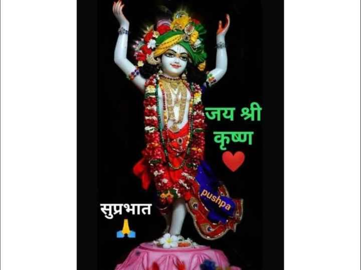 🏵🌸🌸जय श्रीकृष्णा🌸🌸🏵 - जय श्री - कृष्ण pushpa सुप्रभात - ShareChat