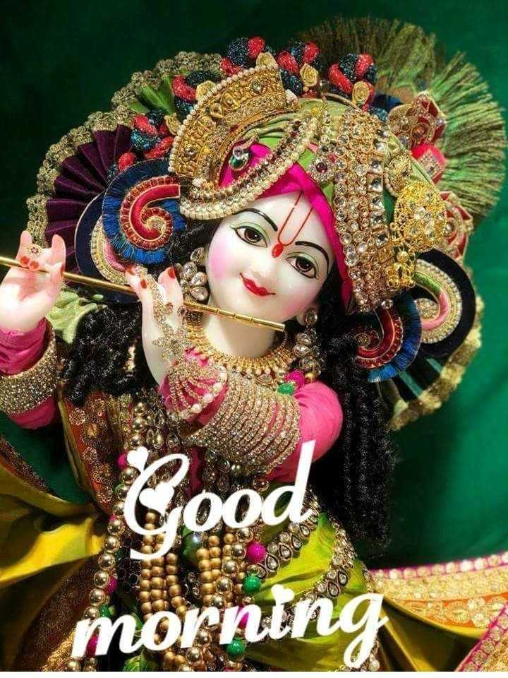 🌸 जय श्री कृष्ण - Cou morning - ShareChat