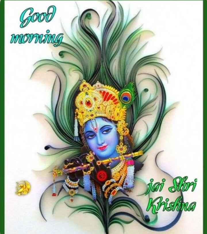 🌸 जय श्री कृष्ण - Good morning 6000 எஸ் என Kristina - ShareChat