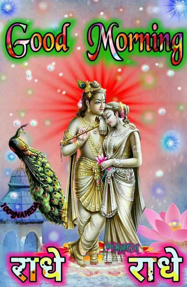 🌸 जय श्री कृष्ण - Good Morning 090 - NABODET राधे राधे - ShareChat