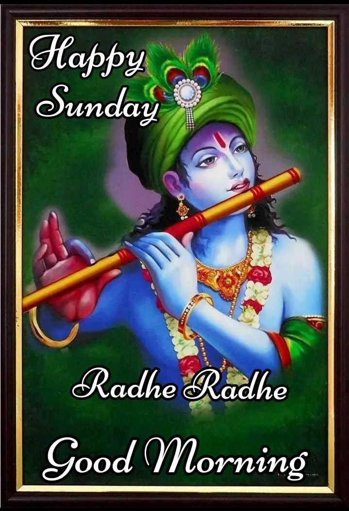 🌸 जय श्री कृष्ण - Happy co Sunday Radhe Radhe Good Morning - ShareChat