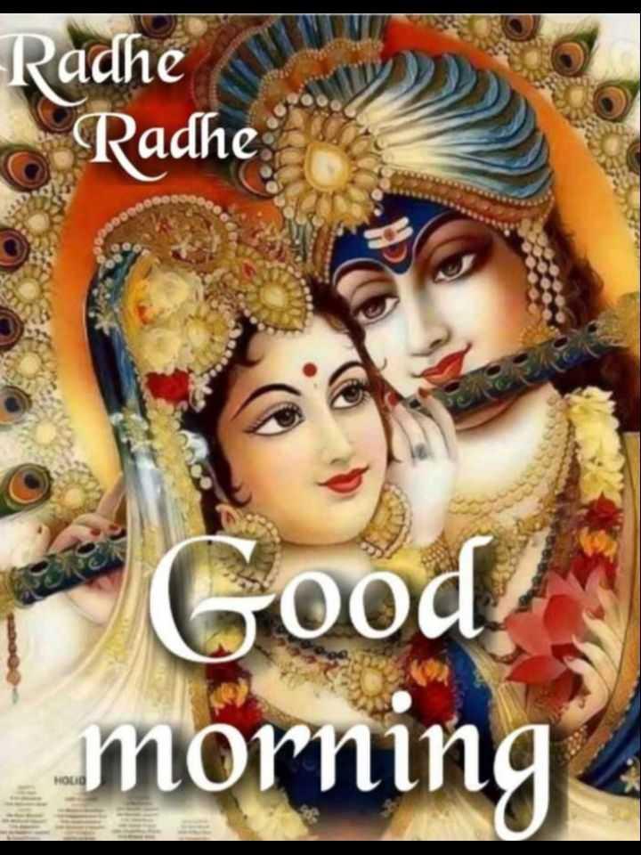 🌸 जय श्री कृष्ण - Radhe Radhe Good ! morning HOLID - ShareChat