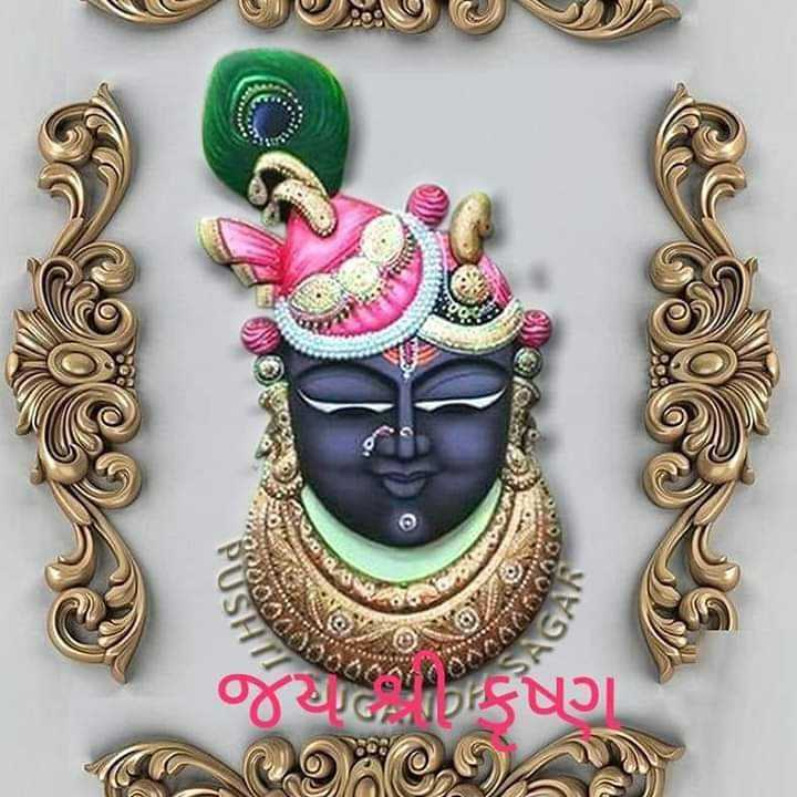 🌸 जय श्री कृष्ण - જથC , Sષ્ણ OR OT - ShareChat